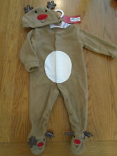 NWT baby girl/boy Christmas reindeer fancy dress up outfit. M&S. 3-6 mths
