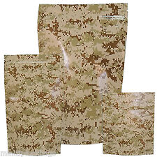 Odor Smell Proof Waterproof Battle Shield Camouflage Digital Camo Small 15 Bags