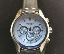 Men's Fossil Watch with Genuine Leather Band
