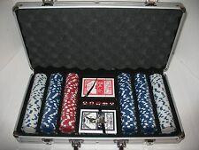 300 Poker Chip Set, New in Case, 2 Set of Cards and Dice