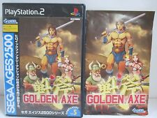 PlayStation2 - GOLDEN AXE SegaAges2500 Vol.5 - PS2. JAPAN. Work fully!39803