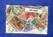 Inde - India 200 timbres différents