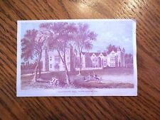 Vintage 1800s The Diamond Dyes Charlecote Hall Warwickshire England Trade Card