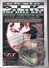 D.L.K. THE HELL KEY N°0110 ISSUE # 6 FEBRUARY  1999 + CD COMPILATION WUMPSCUT