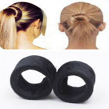 Convenient Helpful Cool Hair Bun Updo Fold Wrap Snap Styling Tool 1 PC