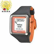 MetaWatch STRATA (ORANGE) WATERPROOF SmartWatch for Samsung Android+iOS