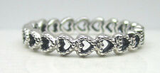 Authentic Pandora #190980-54 Linked Love Sterling Silver Ring Size 7