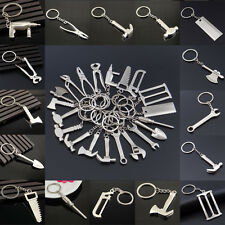 Creative 1Pcs Unisex Mini Metal Wrench Shape Key Chain Keyring Key Finder Tool