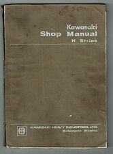 KAWASAKI H2 750 1972 GENUINE KAWASAKI SERVICE MANUAL PRINTED NOVEMBER 1972 RARE
