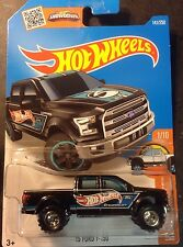 2016 Hot Wheels Super CUSTOM '15 Ford F-150 with Real Riders