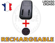 CHARGEUR + 1 PILE BOUTON CR2450 RECHARGEABLE 3.6V Lir2450 BATTERIE ACCU ACCUS