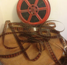 OLD PROJECTOR FILM, sold in 10m sections OFF the roll , 35mm  Projection film,
