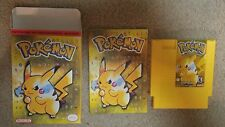 *SALE!* Pokemon Yellow NES Complete CIB Nintendo Game *FREE SHIPPING!*