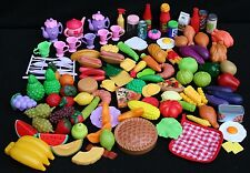 Pretend Play Food - HUGE Lot - 120 pieces - RARE Find - lot F