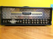 100 Watt Mesa Boogie Dual Rectifier 3 Channel Solo Head W/ NEW BOX of Tubes!