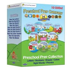 NEW Preschool Prep Series Collection - 10 DVD Boxed Set Pack