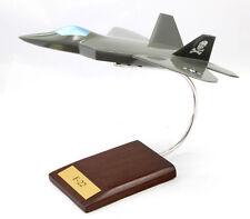 USAF Lockheed F-22 Raptor Jolly Rogers Desk Display Jet Model MC 1/57 Airplane