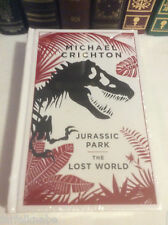 Jurassic Park & The Lost World by Michael Crichton - leather-bound - NEW sealed