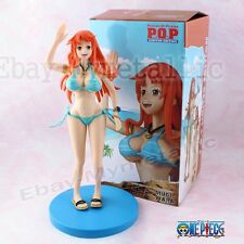 One Piece P.O.P Limited Edition Nami Moveable Bikini 26cm PVC Figure New In Box