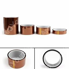 1xHeat Bande 20mm 33m 100ft Kapton Température Résistant Pour 3D Imprimante