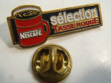 PIN'S NESCAFE SELECTION TASSE ROUGE