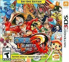 One Piece: Unlimited World Red -- Day One Edition (Nintendo 3DS, 2014)