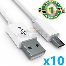 10x lot Micro USB Sync Charger Cable Cord for Samsung Galaxy S2 S3 S4 S6Note 2 4