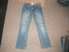 "Old Navy Bootcut Low Waist Jeans Size 10 Leg 31"" Faded Medium Blue Ladies Jeans"