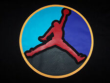 NEW Nike Air Jordan Retro VIII 8 AQUA ALWAYS REPPIN Black Men's T-Shirt L/Large
