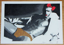 SMALL DEATH NYC Artist Proof Print David Beckham - Banksy Eine Emin Interest