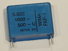 3 Stück WIMA FKP-1 Impuls Kondensator  0,022uF 1600V-/500V~ 5%