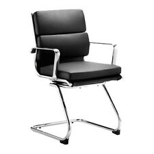 Office Chair Leather Visitor Conference Meeting Waiting Boardroom Apprentice