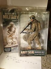 Mcfarlanes Military MARINE RCT ser. 3 Action Figure MISPRINT NAVY SEAL BU Rare