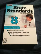 STATE STANDARDS GRADE 8 TEST PREP SOFTWARE NEW & SEALED 50 STATE STANDARDS