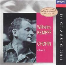 Chopin: Piano Sonata, No. 2 Kempff Audio CD