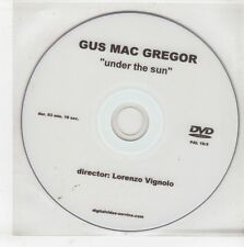 (GS42) Gus Mac Gregor, Under The Sun - DJ DVD