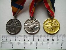 BUDAPEST ATHLETIC federal CHAMPIONSHIP MEDAL,HUNGARY lot of 3,sport