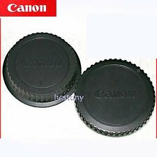 Genuine CANON EOS Camera Body Cap+Rear Lens Cover Set EF~EOS Series Film~DIGITAL