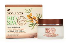DAY CREAM FOR OILY COMBINATION MINERALS CARROT OBLIFICHA DEAD SEA OF BIO SPA