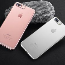 Fit for iPhone 7 Plus Chic Soft Silicone Clear Phone Case Cover Shell Protector