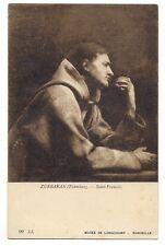 marseille  musée de longchamp   zurbaran (fransisco) saint-françois