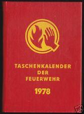 Taschenkalender der Feuerwehr, 1978