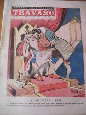 IL TRAVASO DELLE IDEE 42/1949 Amendola, Achille Campanile, Carletto Manzoni