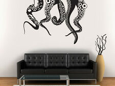 Wall Decal Vinyl Sticker Octopus Tentacles Bedroom Dorm Mans Car Hood Gift r1166