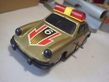 KB (Greece) Gold Porsche 911 Coupe Rally Emergency Plastic/Wind-Up 1:23 NIB