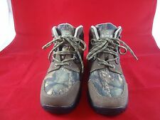 Men's Youth RedHead Crockett Camouflage Leather Canvas Hiking Hunting Boots 6