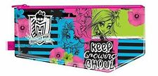 Monster High Large Flat Pencil Zipped Case with Fun Deisgn