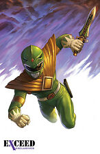 Mighty Morphin Power Rangers #1 Ltd Exceed Exclusives Green Ranger Variant ex1