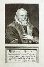 c1720 Risius Rise Heinrich Wertheim Altdorf Kupferstich-Porträt Kilian