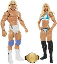 WWE Charlotte and Ric Flair Figure (2 Pack), New, Free Shipping